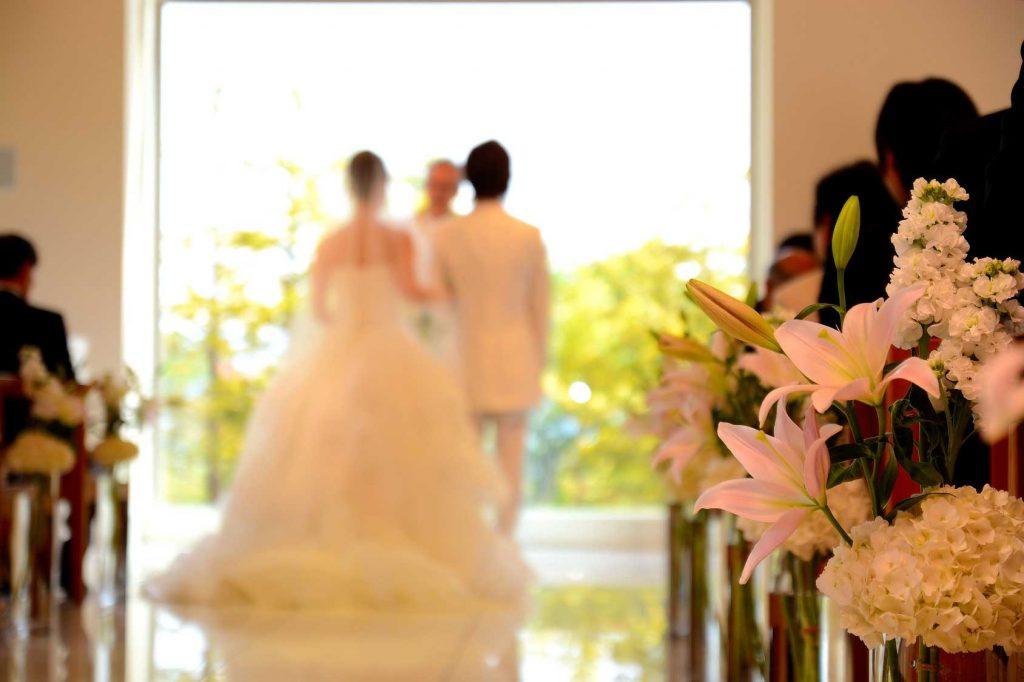 参加者の結婚式に出席しました